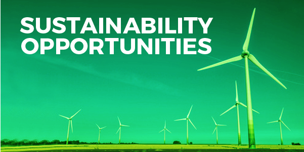 Sustainability Opportunities