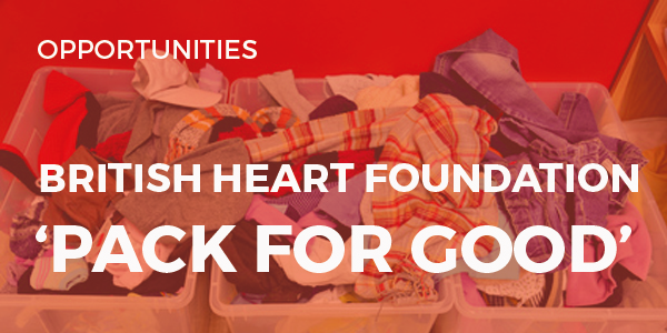 UWTSD and the British heart Foundation 'Pack for Good' Campaign