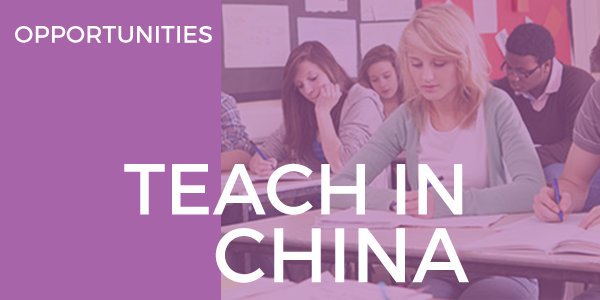 Teach in China 2016