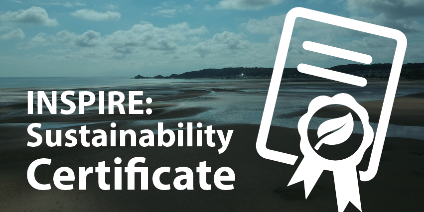 INSPIRE: Sustainability Certificate