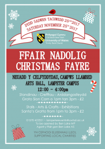 Lampeter Christmas Fayre @ Lampeter Campus, Arts Hall | Wales | United Kingdom